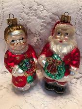 mr and mrs claus collectibles ebay