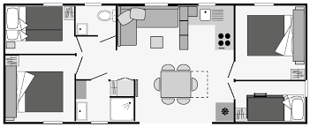 mobil home 4 chambres mobil home 4 chambres 8 pers location en cing entre