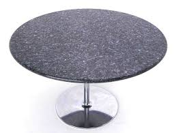 dining and center tables tables mid century modern iridescent granite tulip base dining or