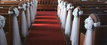 church decorations for wedding wedding church decoration ideas the wedding specialiststhe