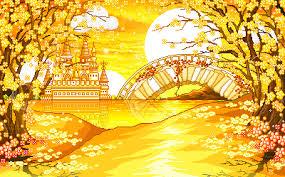 imagenes animadas de otoño puestas de sol animadas gif paisajes gif de otoño como estas