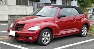file chrysler pt cruiser convertible 001 jpg wikimedia commons