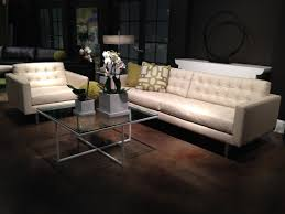 American Leather Sofa by American Leather Parker Chair In Bison White Leather In Stock