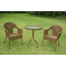 3 Piece Patio Set Details About 3 Piece Wicker Patio Shop Hanover Outdoor Furniture
