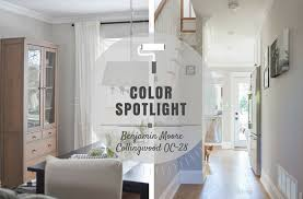 benjimin moore colour spotlight benjamin moore collingwood oc 28 rowe spurling