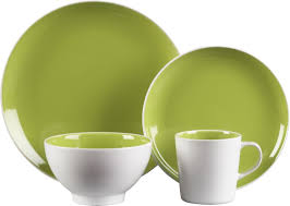 max green dinnerware in dinnerware sets crate and barrel