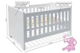 Dimensions Of A Baby Crib Mattress Baby Bed Mattress Measurements Baby Bed Baby Crib Mattress