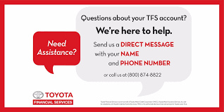 toyota motor credit number toyota financial on twitter let s be partners on and off the road