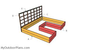 Woodworking Plans For Beds by Diy Raised Garden Bed Plans Myoutdoorplans Free Woodworking