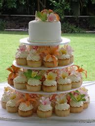 Hilo Flowers - sugar tropical flowers cupcake tower short n sweet bakery market