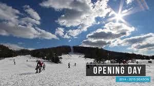 opening day liberty mountain resort 2014 2015 winter season