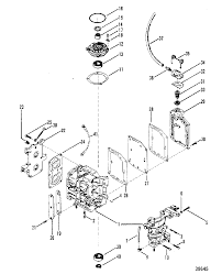 9 8 hp mercury outboard schematic exploded view mercury lower unit