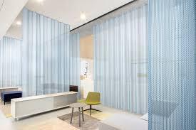 vescom transparent acoustic curtain fabric formoza curtain