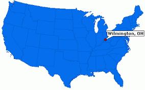 ohio on us map wilmington ohio city information epodunk