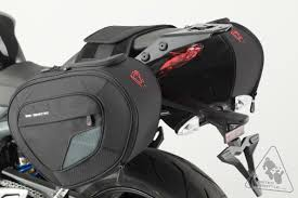 sw motech bags connection blaze sport saddlebag system for triumph