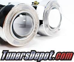 3 inch fog light kit td universal projector fog light kit 3 inch round with led halo
