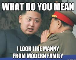 Modern Family Memes - what do you mean i look like manny from modern family hungry kim