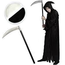 Grim Reaper Halloween Costumes Death Costume Halloween Grim Reaper Fancy Dress Black Robe