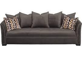 sofia vergara mandalay charcoal sofa sofia vergara mandalay charcoal sofa sofas gray