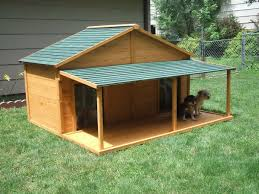 multiple dog house plans new home garden plans dh300 dog house