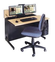 Dual Monitor Computer Desks Computer Desk 2 Monitors 21 Amazing Dual Monitor Computer Desk