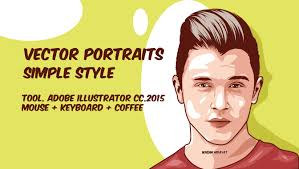 vector skin tone tutorial vector portraits 3 layer illustrator tutorials youtube