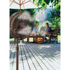 Patio Fans With Misters by Holmes 16