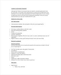 simple resume template word 28 images simple resume format in