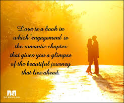 wedding quotes journey 65 engagement quotes for that special moment