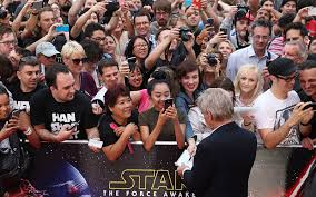 what to get a star wars fan fans arrive for the star wars premiere as excitement builds across