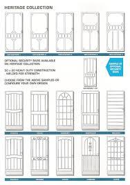 A1 Shower Door by Titan Steel Security Doors A1 Shower Screens