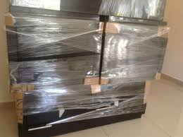 cardboard and shrink wrap to protect furniture how to prepare