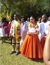 traditional wedding simphiwe ngema and dumi masilela celebrate their traditional