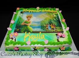 tinkerbell birthday cake italian bakery fondant wedding cakes pastries and