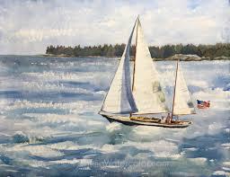 sailboat painting tutorial
