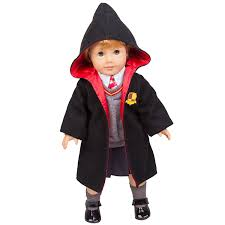 doll dress halloween costume amazon com hermione granger inspired doll clothes for american