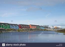 view color houses nuuk stock photo royalty free image 76326562