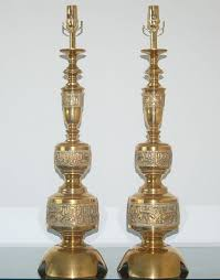 Vintage Brass Table Lamps The Design Enthusiast Vintage Love Brass Table Lamps