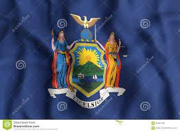 New Yorks Flag New York State Flag Stock Illustration Image Of Albany 95567198