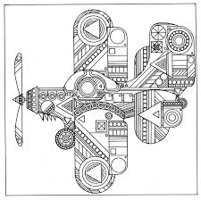 abstract coloring pages planefree coloring pages for kids free
