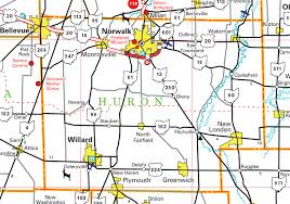milan ohio map pages county map