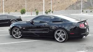 2010 Mustang Black Rims 2011 Mustang Gt Borla Exhaust Youtube