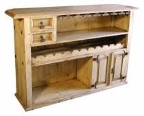 mexican pine bars and wine racks free shipping