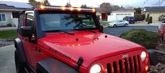 jeep light bar installed my quadratec j5 light bar today imgur