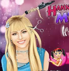 hannah montana real haircuts game for s 2016