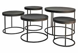coffee table with iron base black side table round black oak top side table with cast iron base