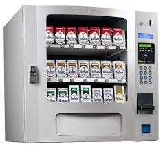 Table Top Vending Machine by 30 Cigarette Vending Machines In Black