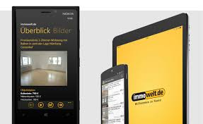 Immobiliensuche Immowelt Iphone Ipad Android App Inserteffect