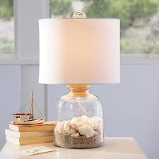 clear glass base table l bottle it bedside l shade pbteen