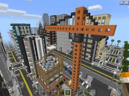 City Maps For Minecraft Pe Hyvel City Map Minecraft Pe Hq
